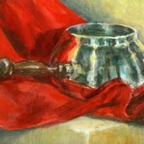 Fondue Pot - Acrylic, 2006