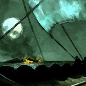 Viking Longboat - Digital, 2005