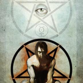 """Pentagram with Inversion"" - Digital, 2009"