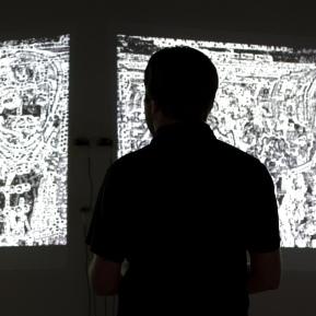 """Pinboard for Meditation"", Installation, 2010; Photo: Jacek Gancarz"